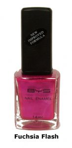 <b>BYS Nail Polish - Fuchsia Flash No. 13</b>